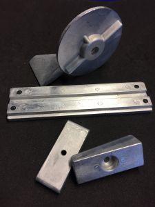 TECNOSEAL anodi srj zn merc F30 F40 F60