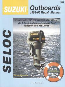 SIERRA 18-01600 kirja Suzuki 2-225hp